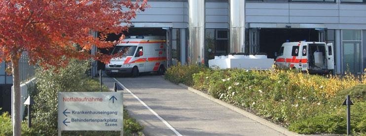 Notfallaufnahme Klinikum Bitterfeld