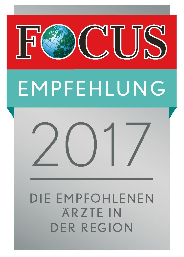 Focus Empfehlung Urologie