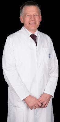 Dr. med. Hermann Voß Chefarzt der Klinik für Frauenheilkunde und Geburtshilfe