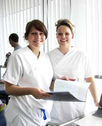 Ausbildung Gesundheits- und Krankenpfleger im Gesundheitszentrum Bitterfeld/Wolfen