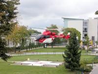 Hubschrauberlandeplatz des Gesundheitszentrum Bitterfeld/Wolfen