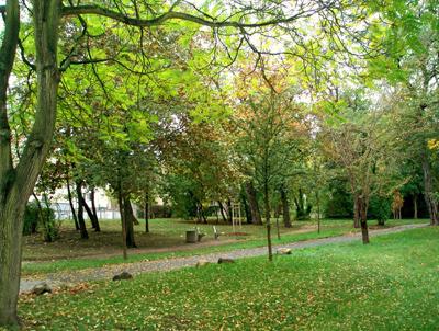 Parkanlage BelcantoHaus Wolfen