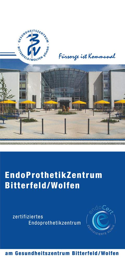 Flyer Endoprothetikzentrum | Gesundheitszentrum Bitterfeld/Wolfen