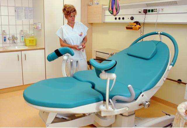 Geburtsstuhl Gesundheitszentrum Bitterfeld/Wolfen