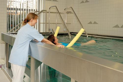Aquafitness - Physiotherapie Bitterfeld am Gesundheitszentrum