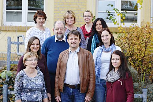 Team der Tagesklinik für Psychiatrie und Psychotherapie am Gesundheitszentrum Bitterfeld/Wolfen