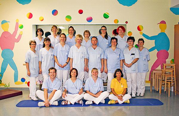 Team der Physiotherapie am Gesundheitszentrum Bitterfeld/Wolfen